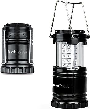 7 LED collapsable lanterne avec crochets idéal pour le camping en plein air militaires
