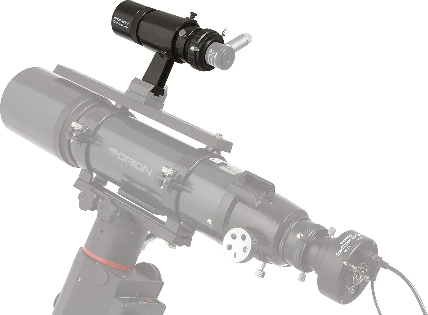 Orion 13022 Deluxe Mini 50mm Guide Scope with Helical Focuser