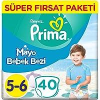 Prima Mayo Bebek Bezi 5 Beden Junior Tekli Paket 40 Adet