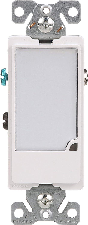Eaton 7737W 1-Watt 120-Volt Full LED Hallway Nightlight Heavy Duty Grade, White