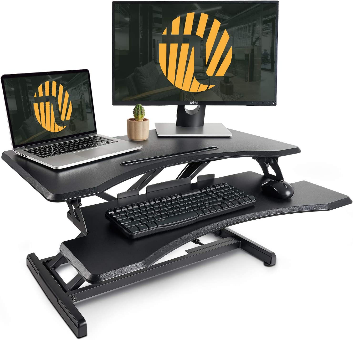 FEZIBO Stand Up Desk Converter,