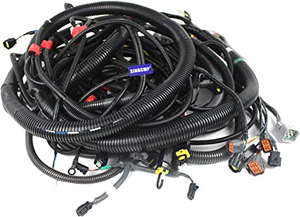 Amazon.com: KRR12930 Outer Harness - SINOCMP External Wiring Harness for  Sumitomo SH240-5 Excavator Parts, 3 Month Warranty: Car ElectronicsAmazon.com