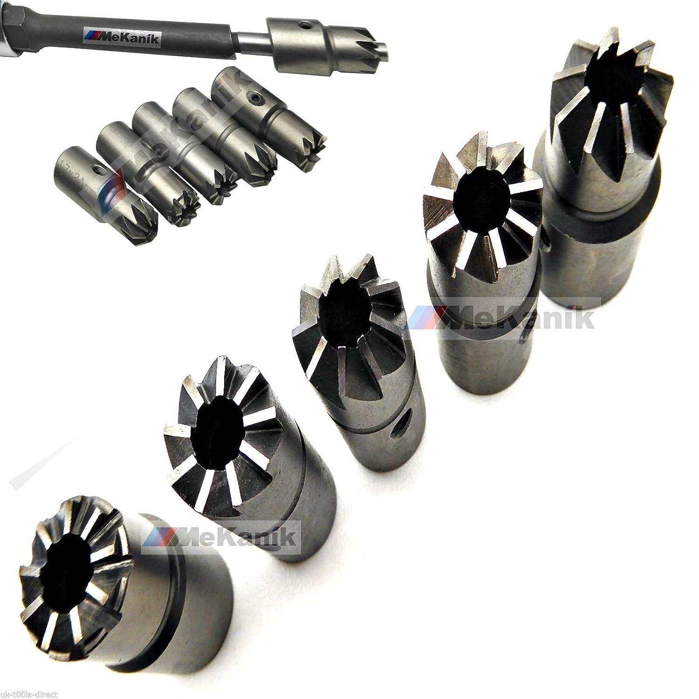 Mekanik Universal Diesel Injektoren Dichtsitz-Fr/äser-Set 7-teilig Delphi Bosch