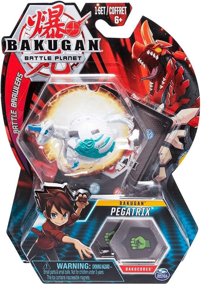 BAKUGAN – Pegatrix – 5cm Figura de acción y Tarjeta de Trading ...