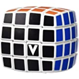 V-Cube 4 Cube Pillowed Cube Toy, White/Multicolor