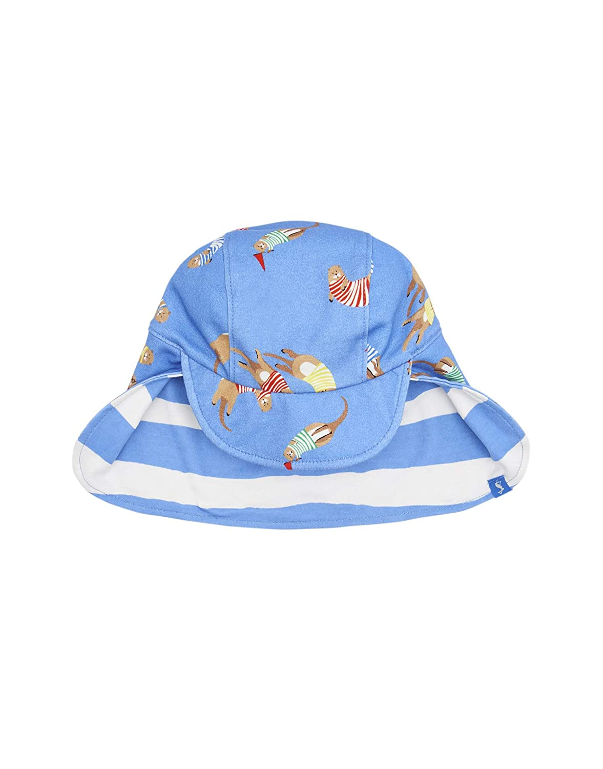 Joules Baby BRIT Reversible Sun Hat Sea Dog Stripe