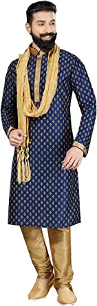mens wedding wear kurta pajama set indian wedding wear outfits for men indian kurta Hand Embroidered mens kurta pajama set