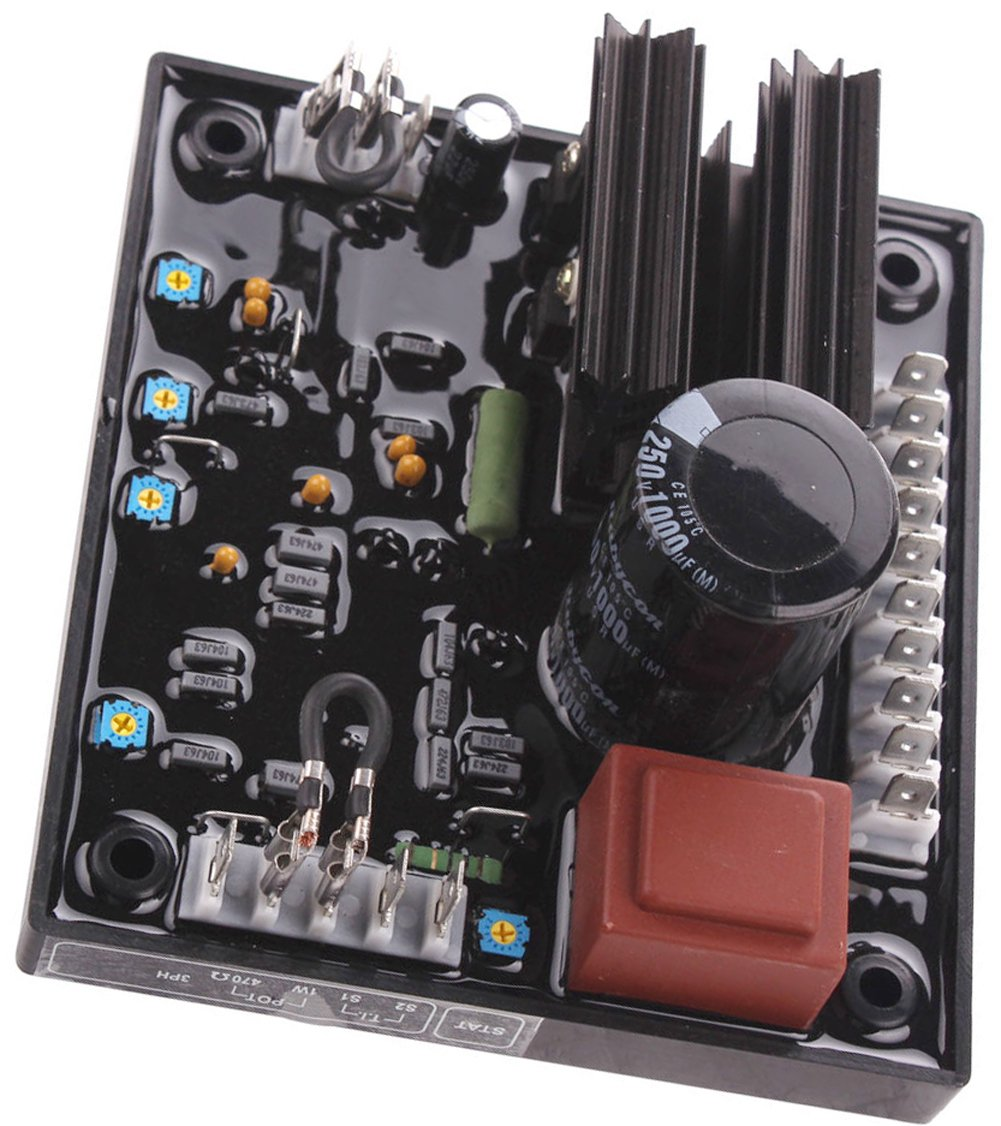 New automatic voltage regulator avr r438 for leroy somer on leroy somer single phase wiring diagram Single Phase Reversible Motor Wiring Diagram Single Pole Thermostat Wiring