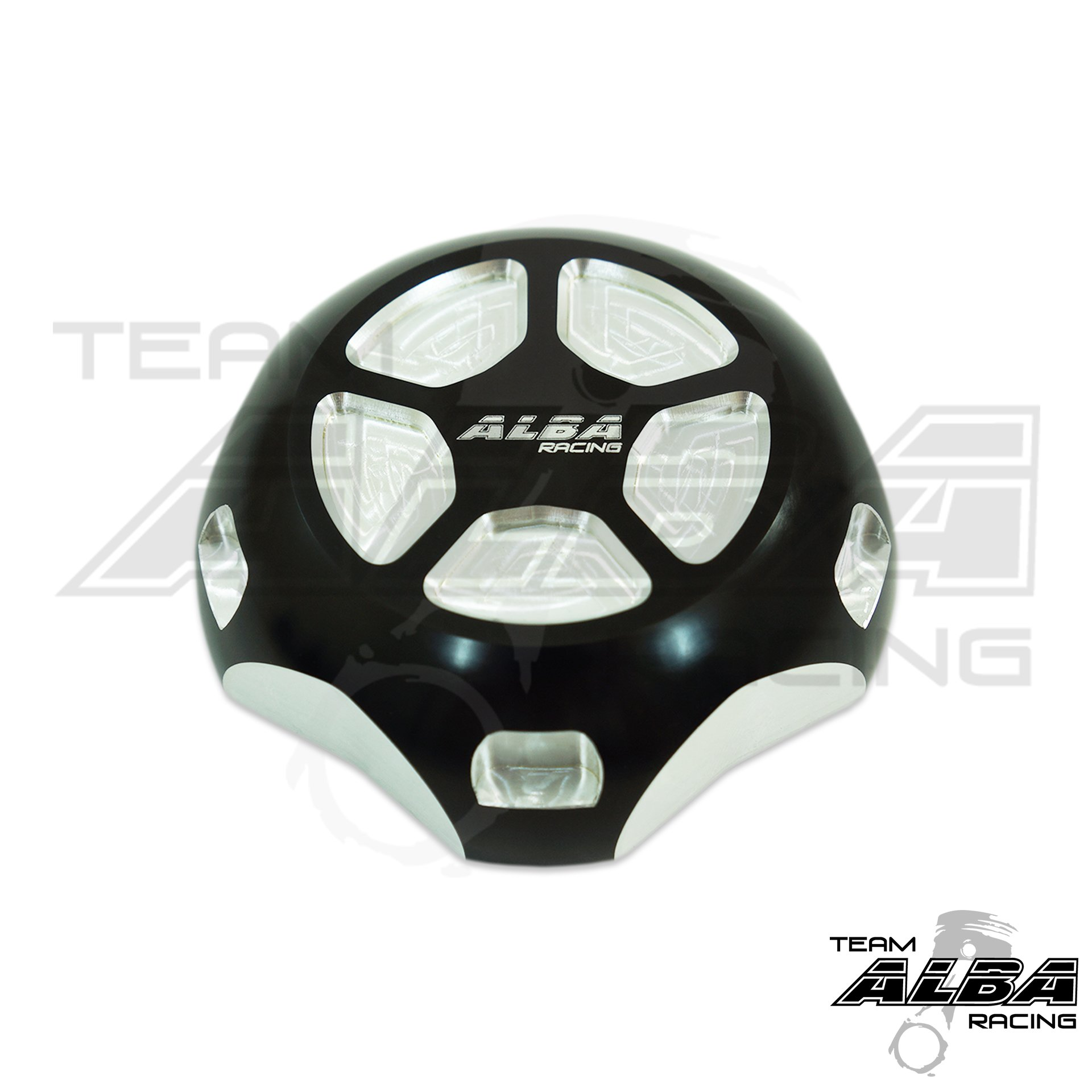 Polaris RZR XP1000 EPS (2014-2017) Gas Cap Billet Machined Black / Silver (Available in Many Colors)