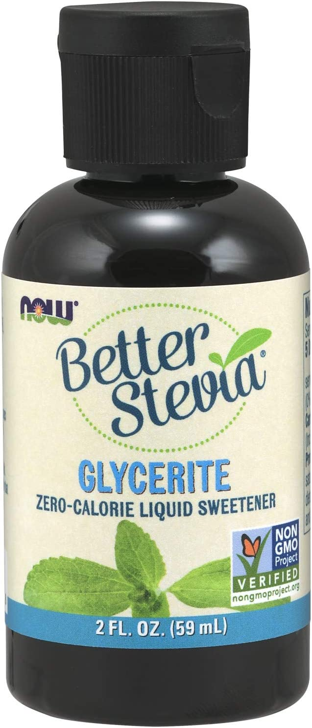 NOW Foods BetterStevia Glycerite, 2-Ounce