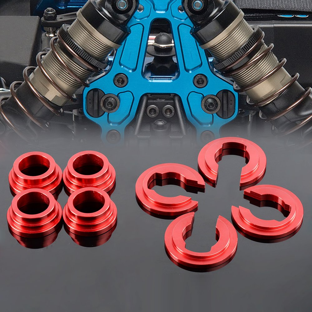 Subframe Sub Frame Bushing Collar Collars Kit for Nissan 240SX 180SX S14 300ZX Red Gplusmotor