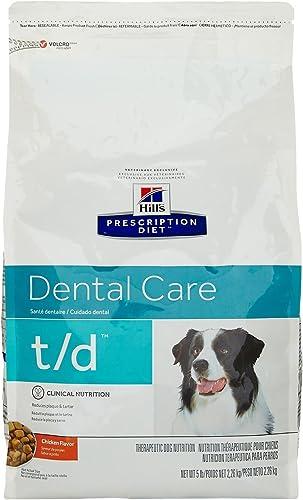 Hill S Prescription Diet T D Dental Health Dry Dog Food 5 Pounds