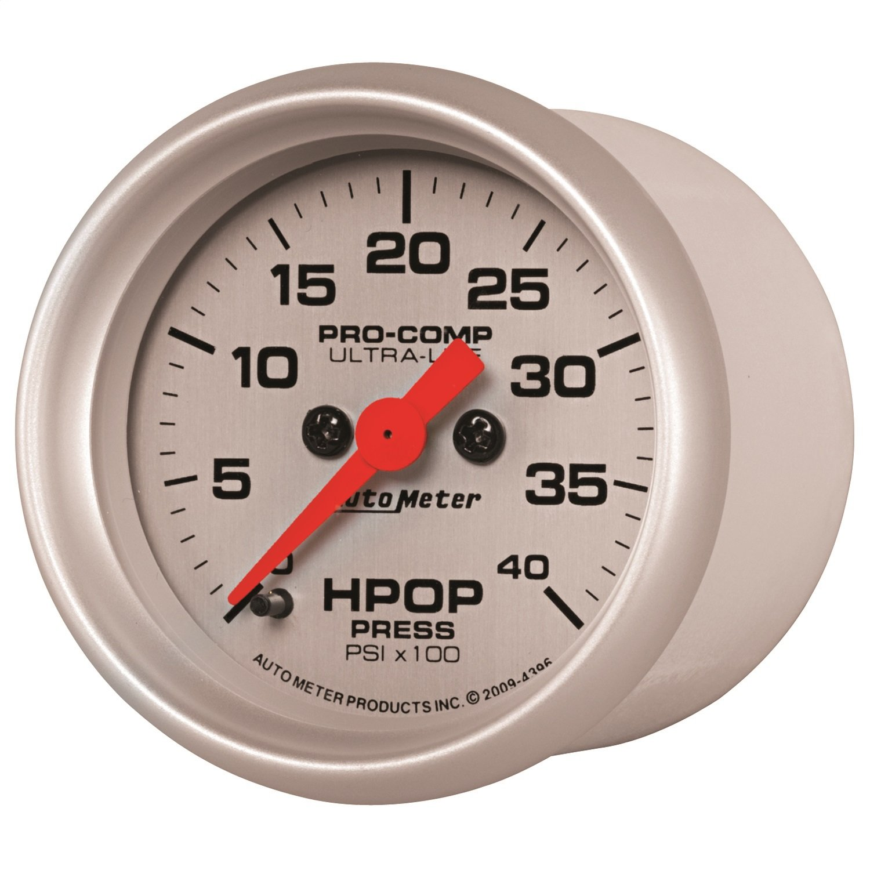 Auto Meter 4396 Ultra-Lite High Pressure Oil Pump Gauge