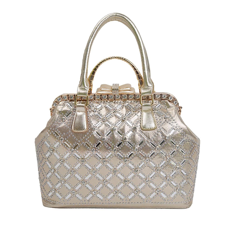 QZUnique Women's Fashion Shoulder Bag Elegant Exquisite Shiny Clutch Handbag