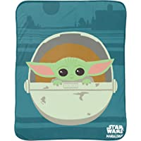 Jay Franco and Sons Silk Touch Throw Star Wars The Mandalorian The Cutest Bounty