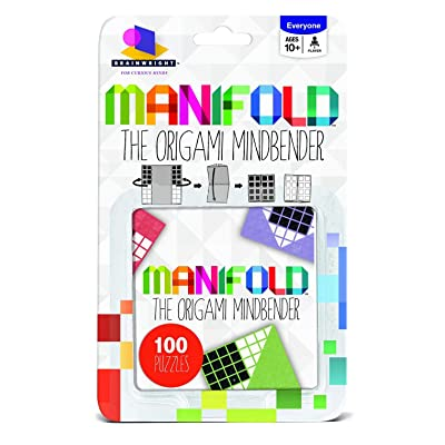 BRAINWRIGHT Manifold, The Origami Mind Bender Puzzle: Toys & Games
