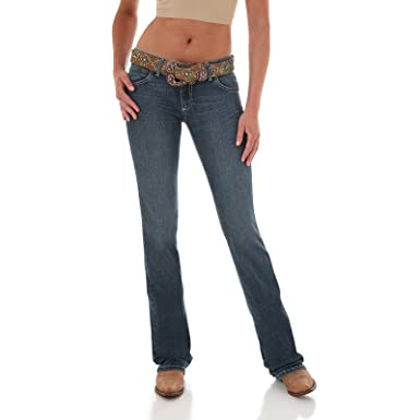 559853db9d2 Amazon.com: Wrangler Girls' Premium Patch Jeans Flared Boot Cut ...