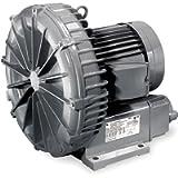 Regenerative Blower, 0.37 HP, 42 CFM