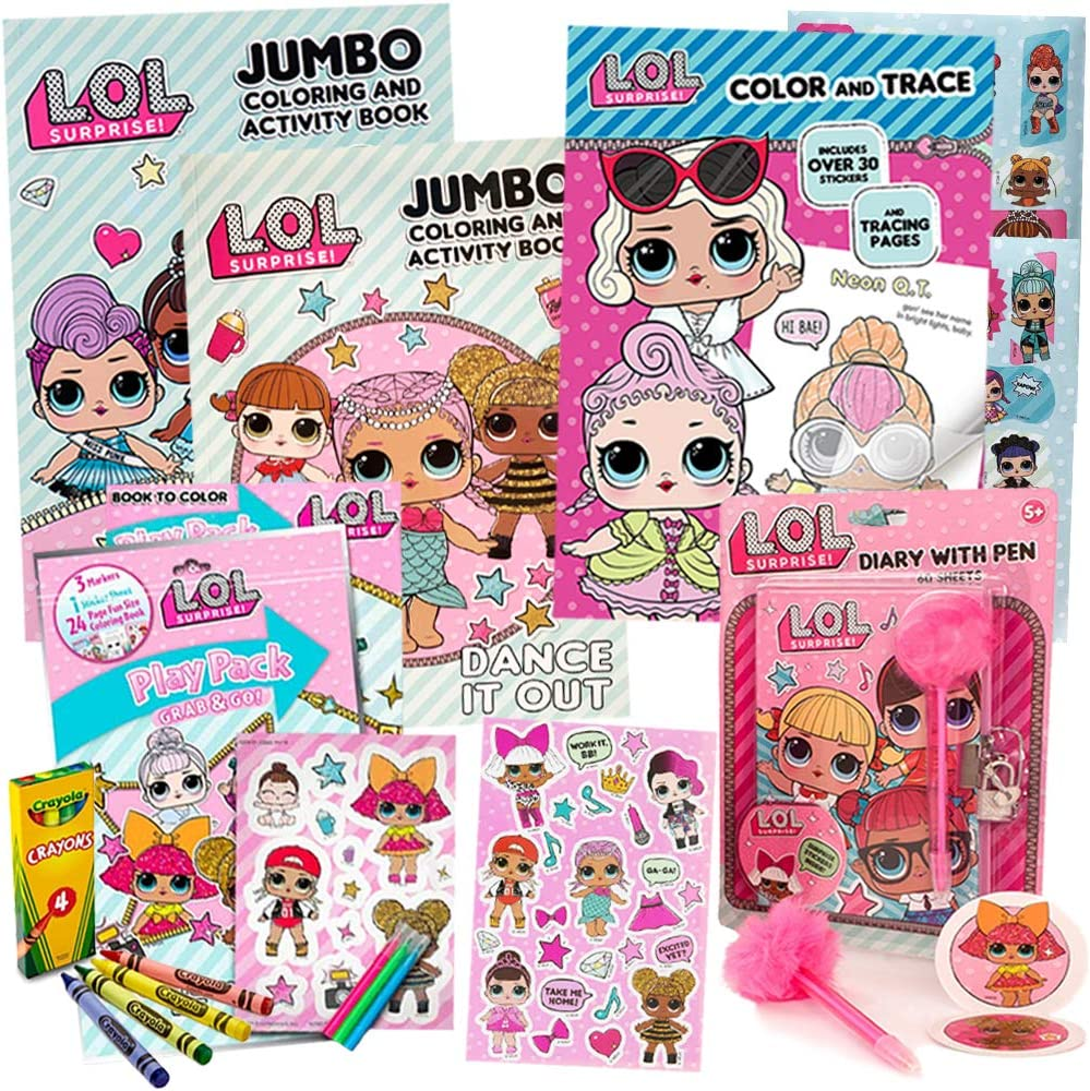- Amazon.com: LOL Surprise Activity Toy Set For Girls By