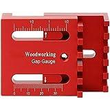 Woodworking Gap Gauge Depth Measuring Ruler Line Sawtooth Ruler Marking Kit 2PCS