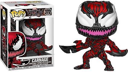 Amazon Com Pop Funko Marvel 372 Venom Carnage Exclusive Vinyl