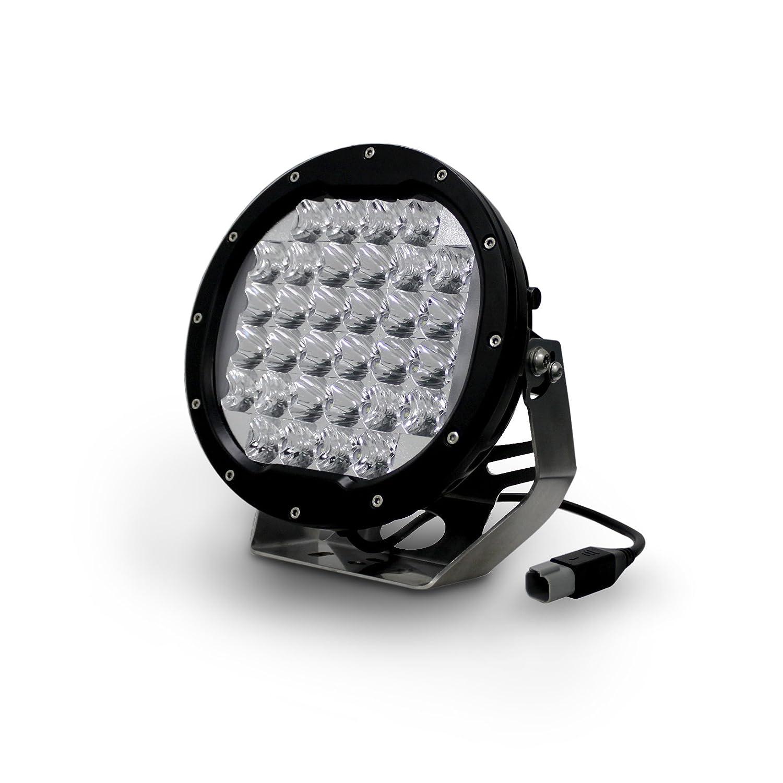 Amazon.com Aurora LED Round 7u201d Driving Light. 96W Unit Includes 32X3W Oslon White LEDs. 8800 Lumen 7.4A 9-36V Combination Beam Automotive  sc 1 st  Amazon.com & Amazon.com: Aurora LED Round 7u201d Driving Light. 96W Unit Includes ...
