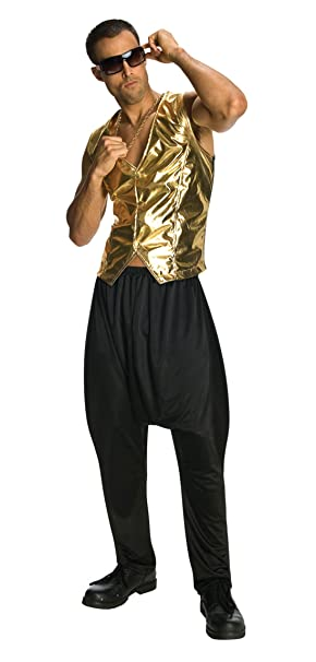 extremely unique online here shop best sellers Amazon.com: 9058 MC Hammer Black Parachute Pants Only: Clothing