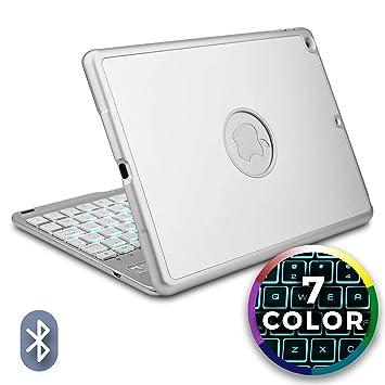 Funda con Teclado para Apple iPad Air, Cooper NOTEKEE F86 Carcasa con Teclado inalámbrico Bluetooth