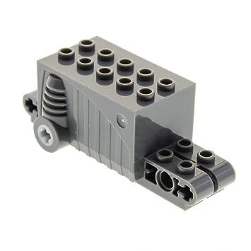 LEGO 3 x Technik Rückziehmotor Aufziehmotor schwarz black pullback 47715