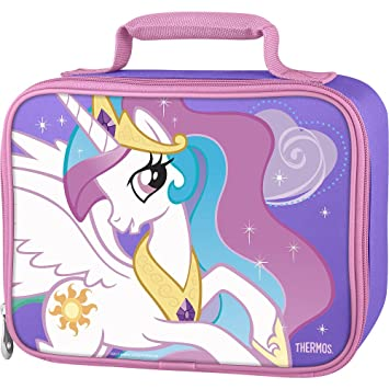 0308d115f31c Amazon.com   Thermos My Little Pony Soft Lunch Kit   Baby Food Storage  Containers   Baby