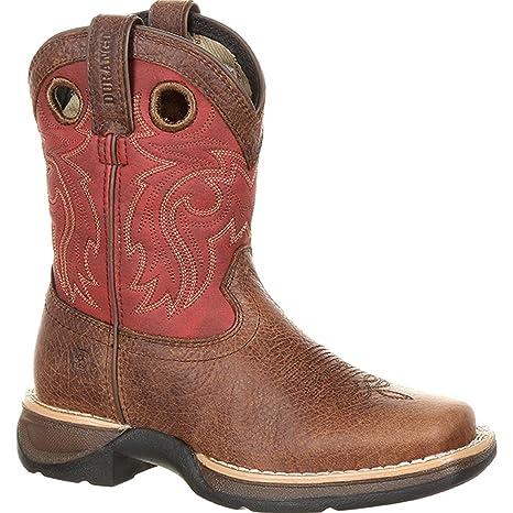 8619979194c Durango Boys' Lil' Rebel by Waterproof Boot Square Toe