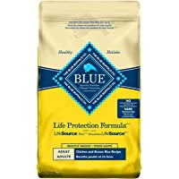 Blue Buffalo Life Protection Formula Healthy Weight Dog Food Natural Dry Dog Food for Adult Dogs Chicken and Brown Rice…