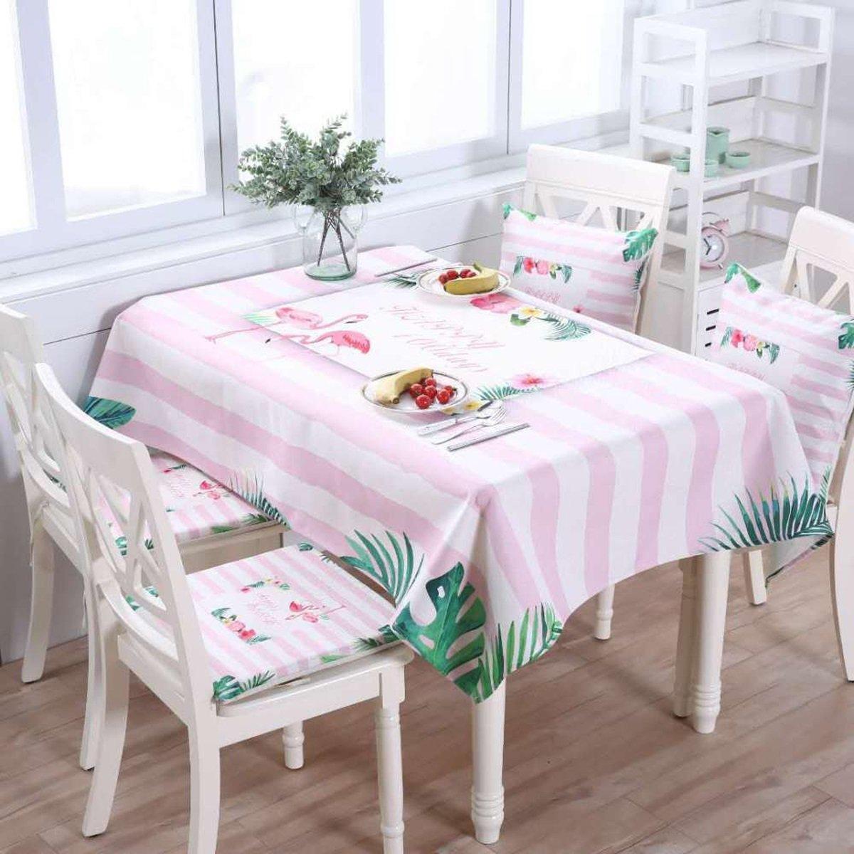 O 140220cm (55.186.6in) DONG Tischtuch Tischdecke Tuch Läufer Tee Tischdecke Baumwolle Stoff Tuch Tisch Schreibtisch Home Home Decor Rechteck Cartoon Wohnzimmer (Farbe   O, größe   140220cm (55.186.6in))