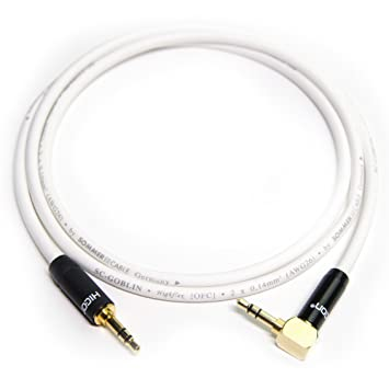 Mini Jack 3 5 Mm Hicon Plug To Mini Jack Angled Cable Sc Goblin