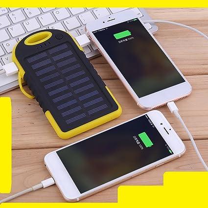 Amazon.com: 12000 mAh Cargador Solar Portable Batería ...