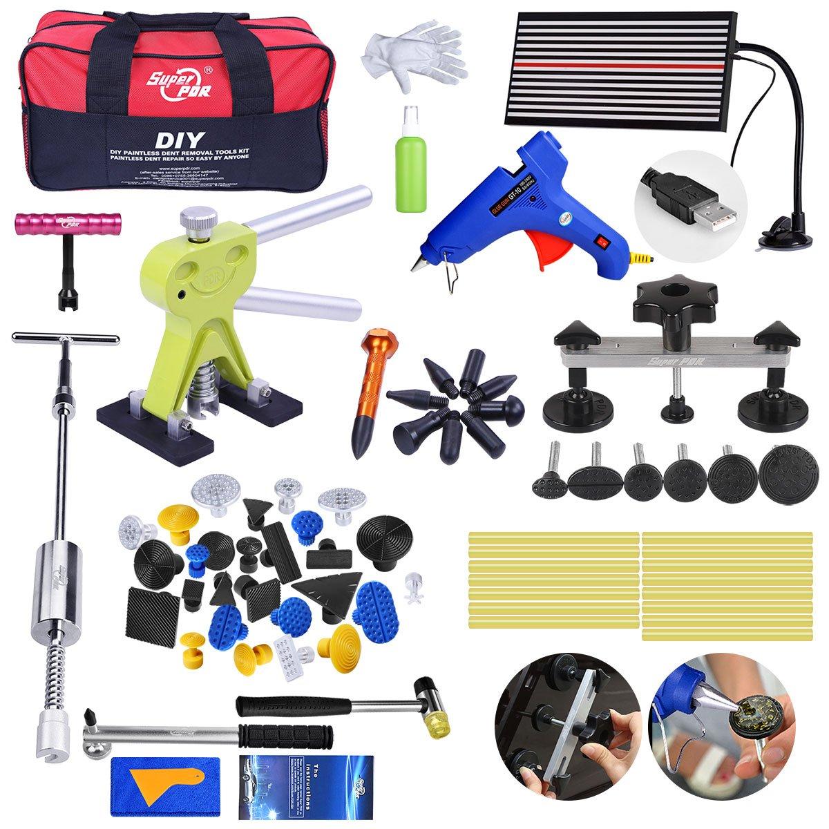 Pdr Tool Pops a Dent Puller Kit for Car Body Dent Repair (PC-29)
