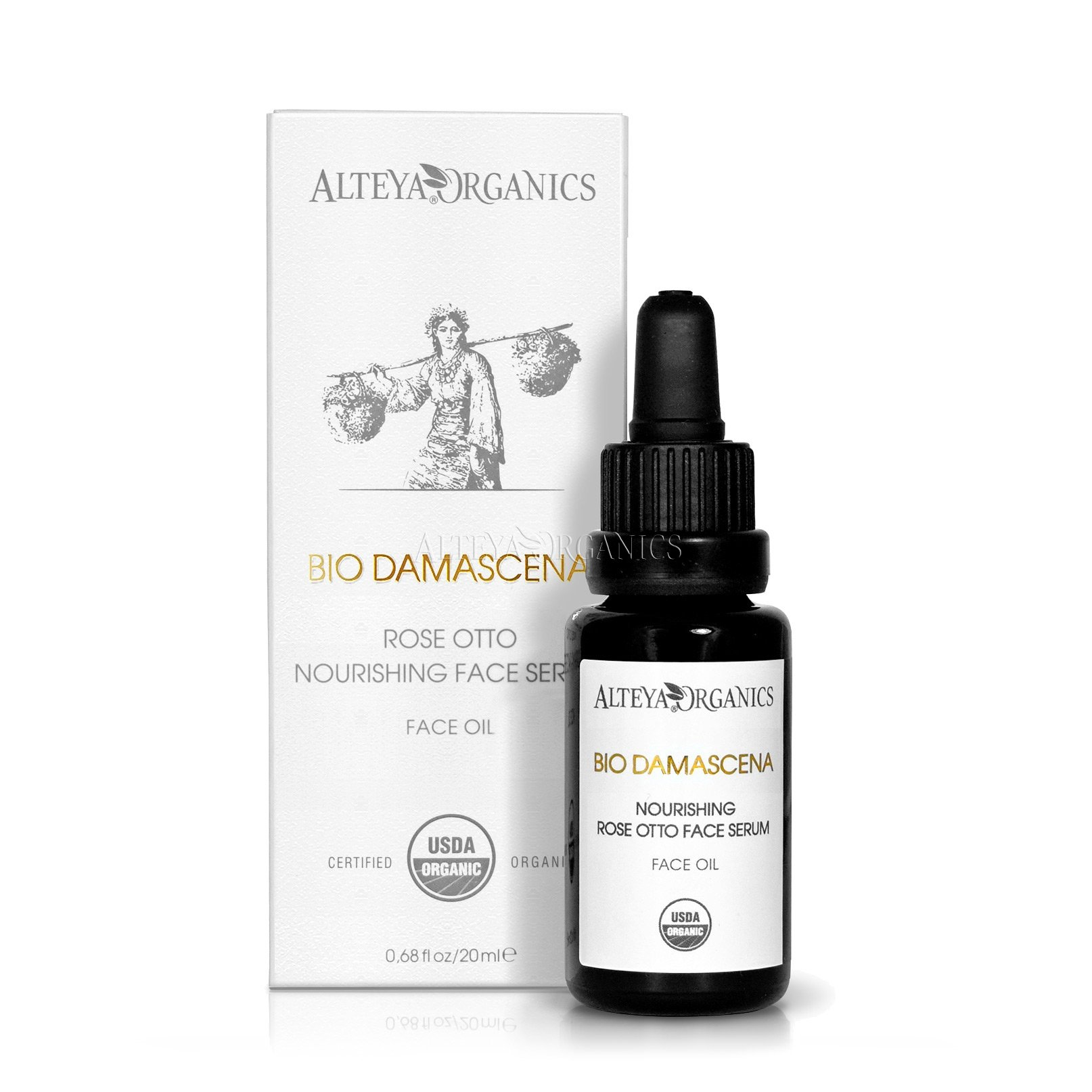 Alteya Organics USDA Organic BioDamascena Face Serum