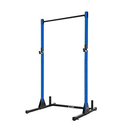 Amazon.com : CAP Barbell Power Rack Exercise Stand, Multiple Colors : Sports & Outdoors