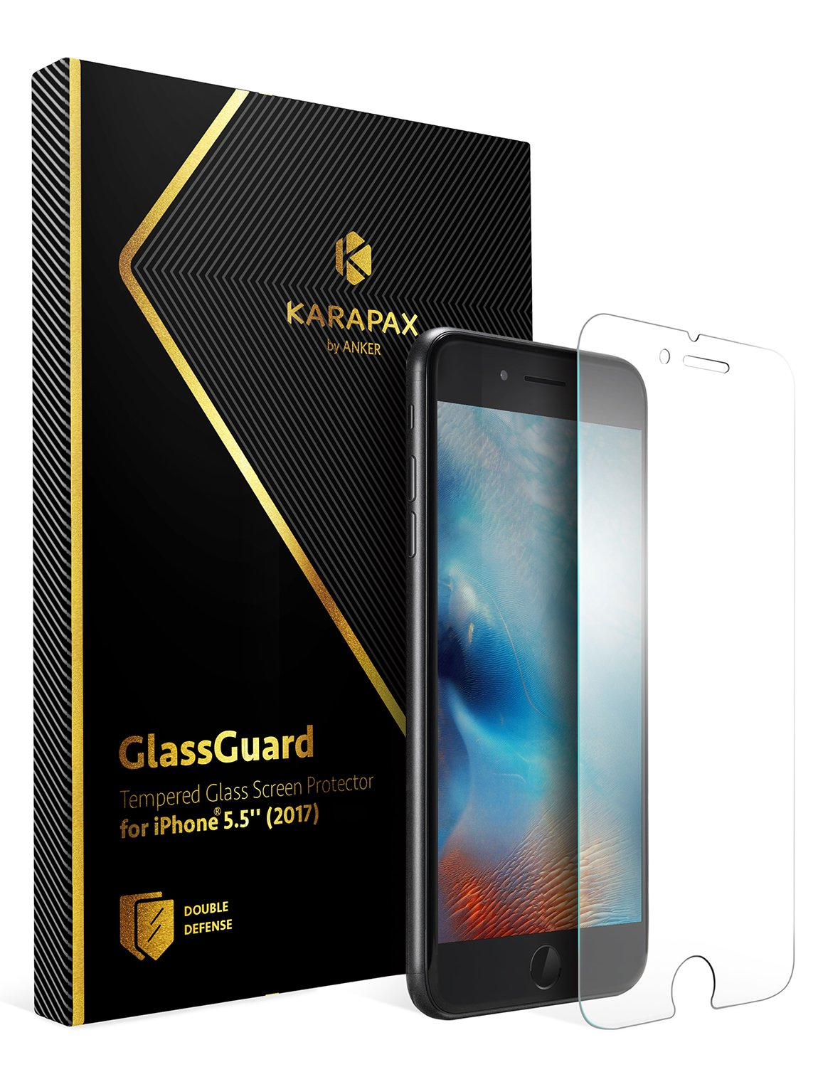 Anker KARAPAX GlassGuard(iPhone 8 Plus / 7 Plus)
