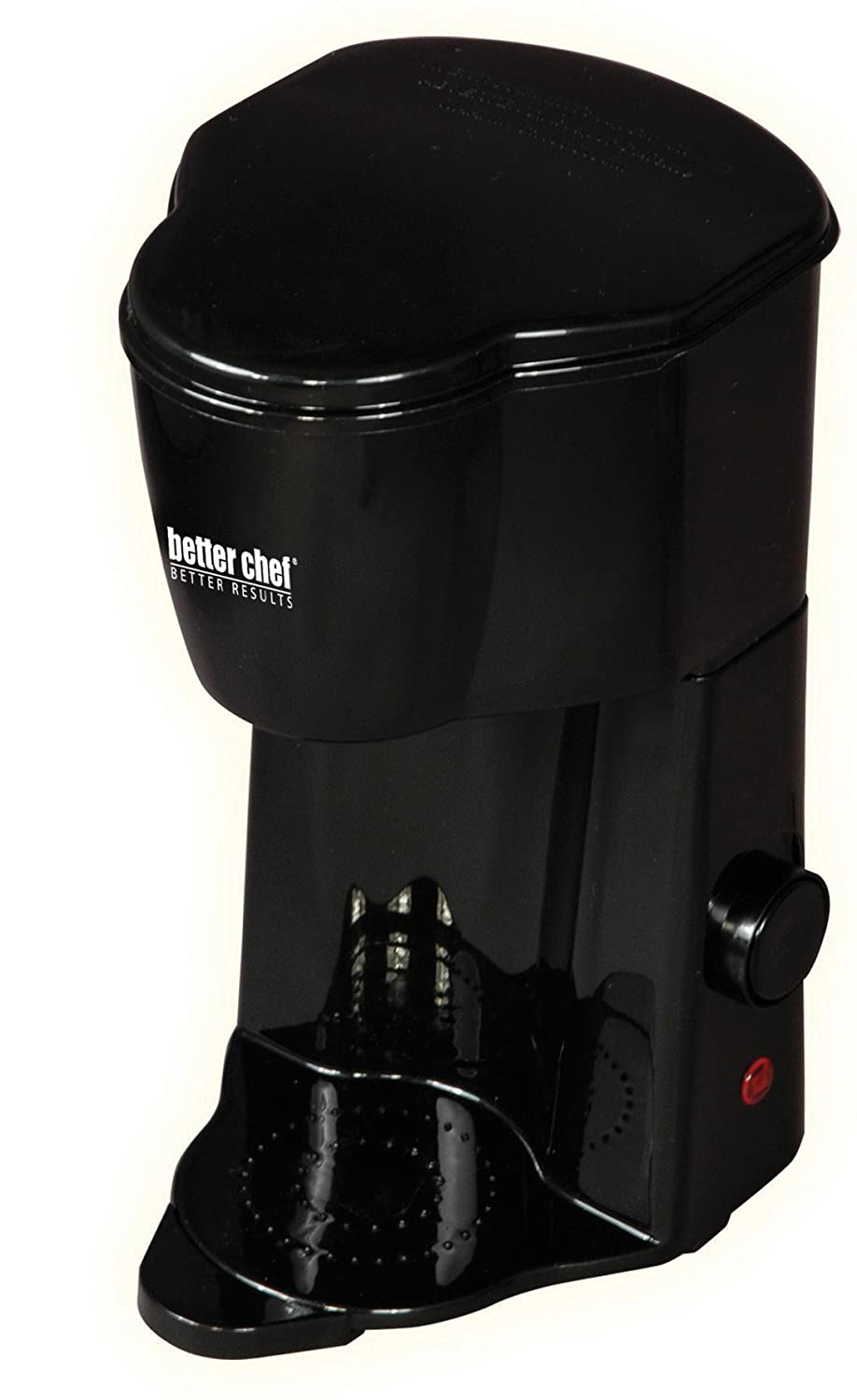 Better Chef IM-102B Compact Personal Coffee Maker | Brews up to 12 oz. | Compact Size