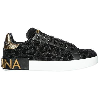 1e93da5b018e3 Dolce   Gabbana Chaussures Baskets Sneakers Femme Noir EU 37.5  CK1570AV2628B956