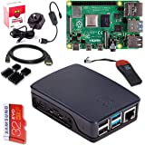 Raspberry Pi 4 Model B 4GB Complete Starter Pack - 32GB Noobs - Official Case Black
