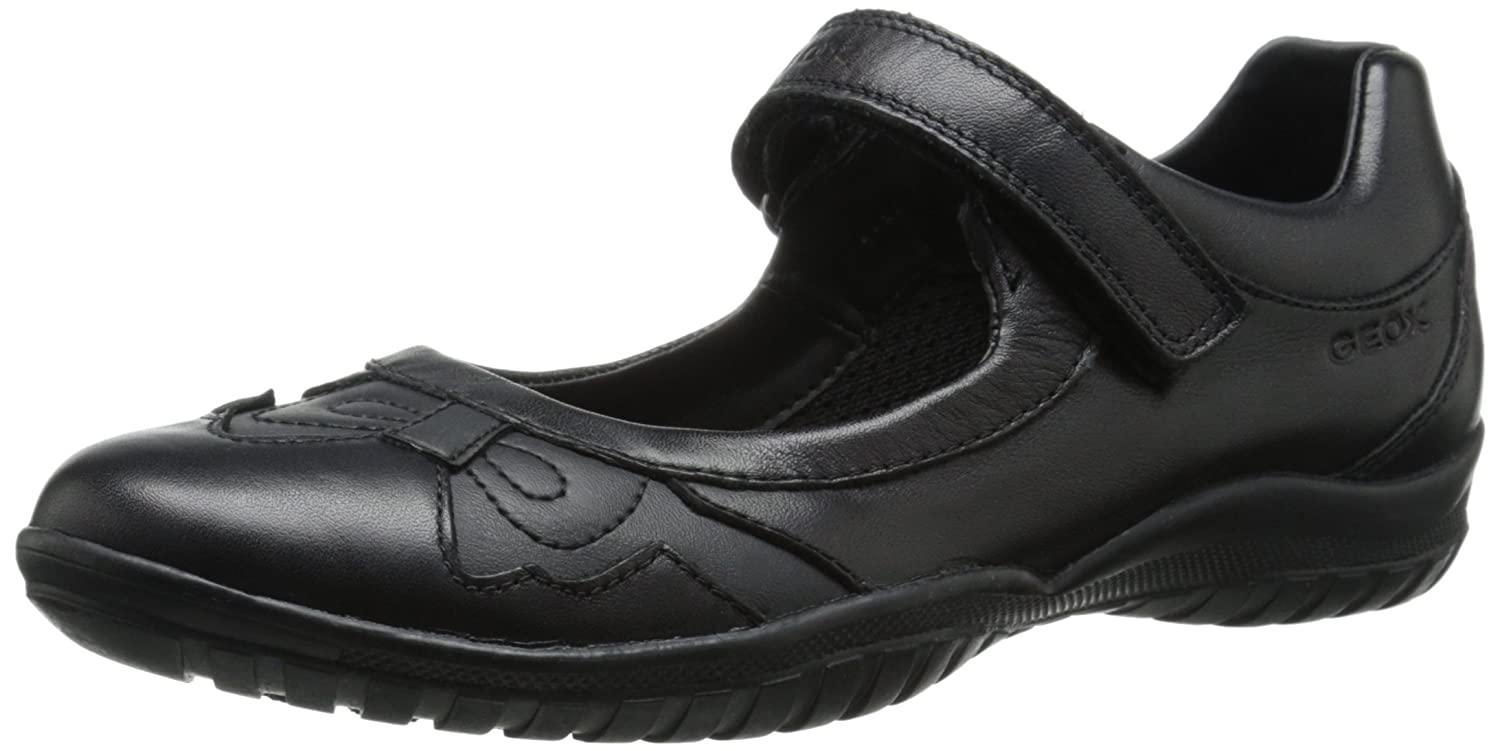 cc70e4923086f Geox Girls Shadow J54A6A Black School Shoes