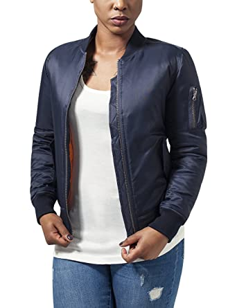 super popular bf8fb b9166 Urban Classics Damen Jacke Ladies Basic Bomber Jacket