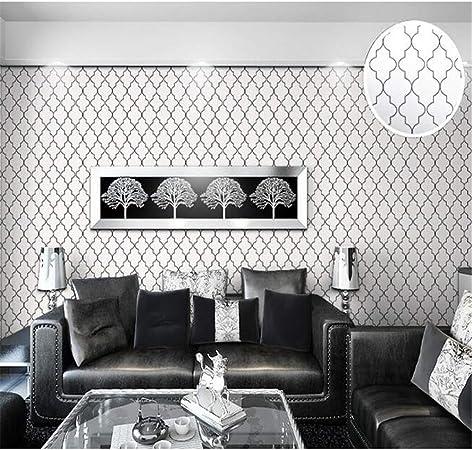 Pmhhc Moroccan Trellis Modern Geometric Pattern Wallpaper ...