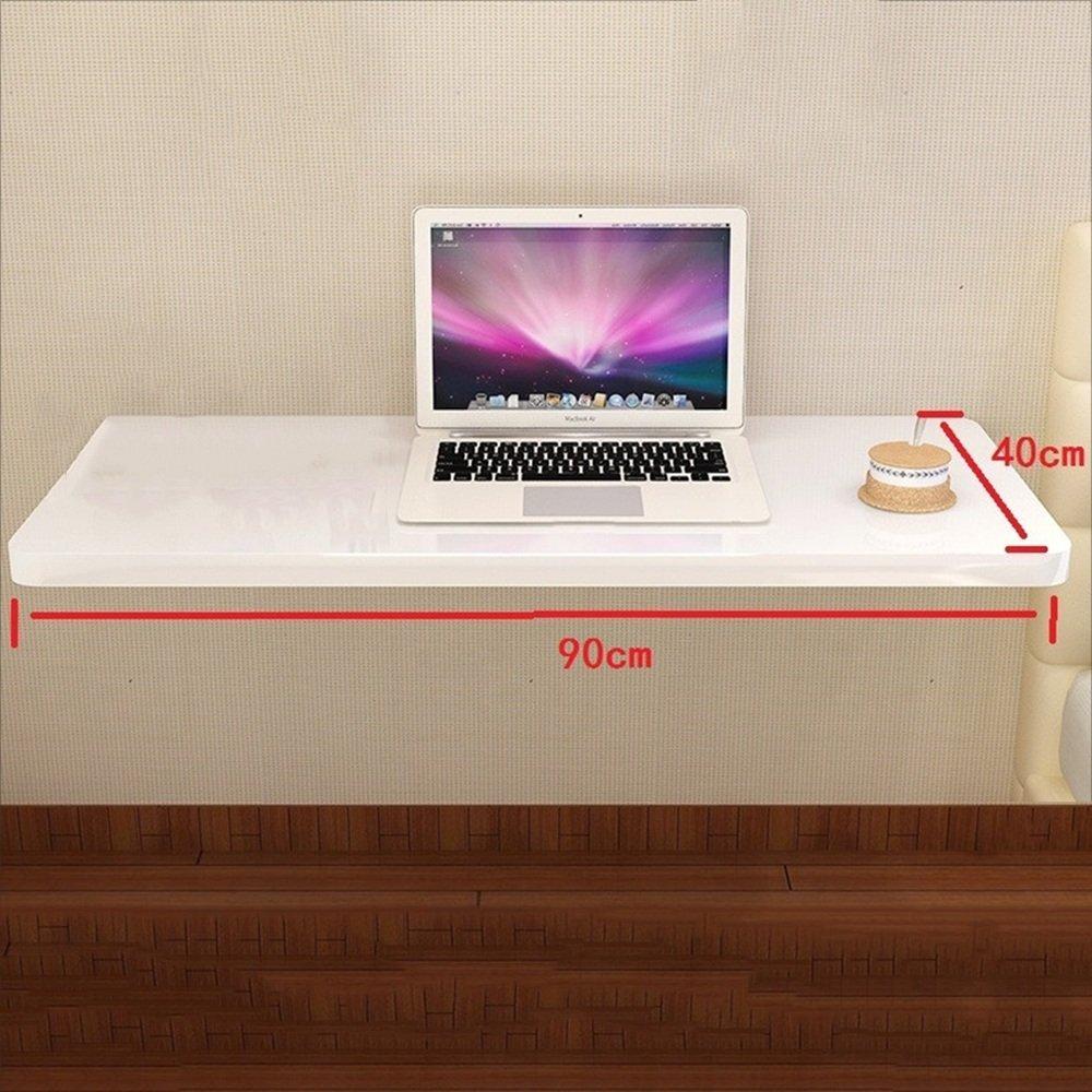 NAN 厚い折り畳み式シンプルな壁のテーブルのテーブルのテーブルの金属のスタンド子供の折り畳みテーブルのデスクトップの厚さ2.5センチメートルホワイト ワークベンチ (サイズ さいず : 100cm) B07F72SJLF 100cm 100cm