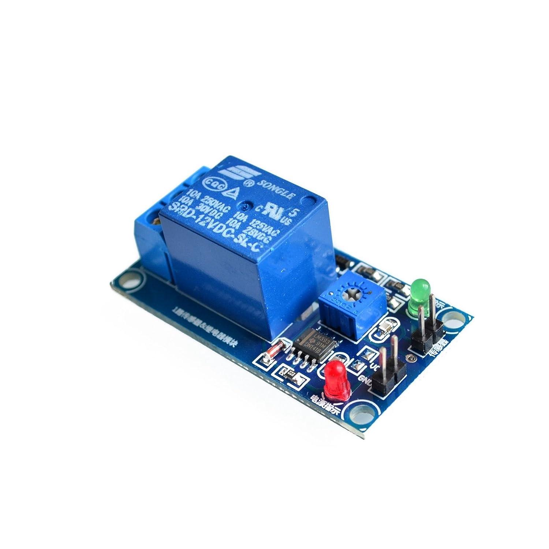 Lysignal 12V Raindrop Controller Module Raindrop Sensor Module With Relay for Arduino