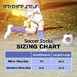 Soccer Socks, FOOTPLUS Over Knee High Breathable
