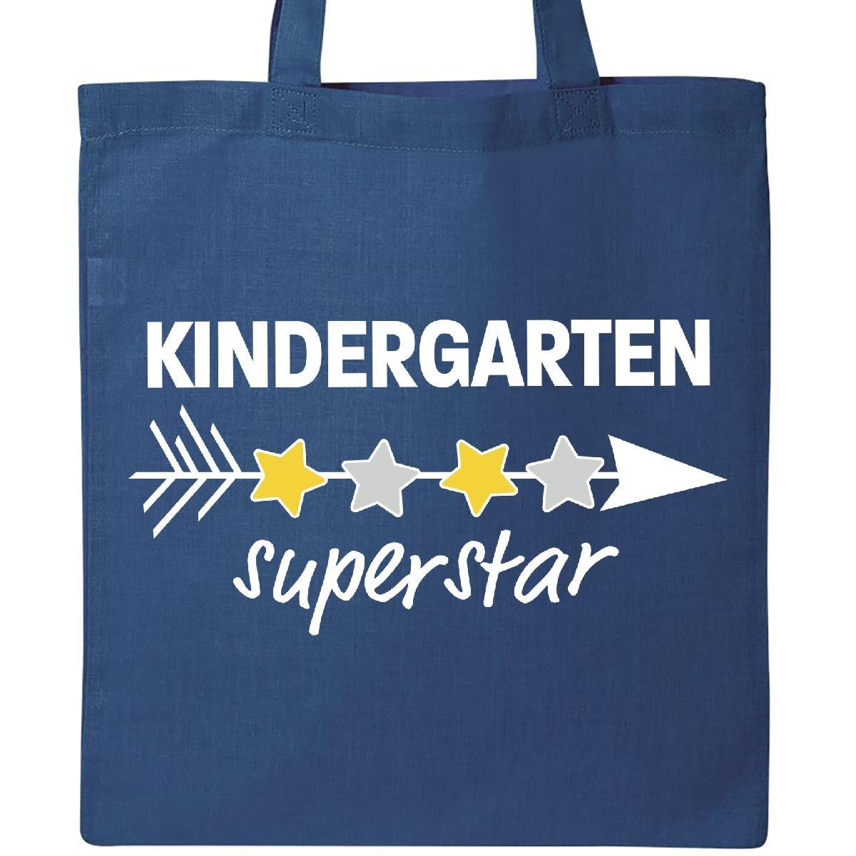 Inktastic幼稚園Superstar with矢印と星トートバッグ One Size ブルー 4331345392  ロイヤルブルー B073GRH8P7
