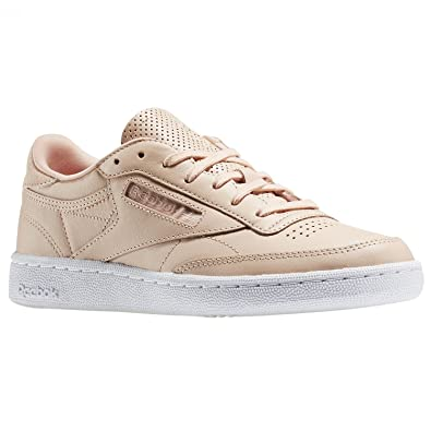 e5a7f6dc Reebok Club C 85 NT Trainers Pink: Amazon.co.uk: Shoes & Bags